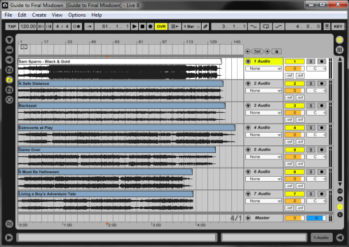 Final Mixdown: Load-In