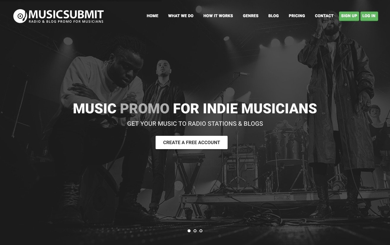 How do you submit your music to radio stations?
