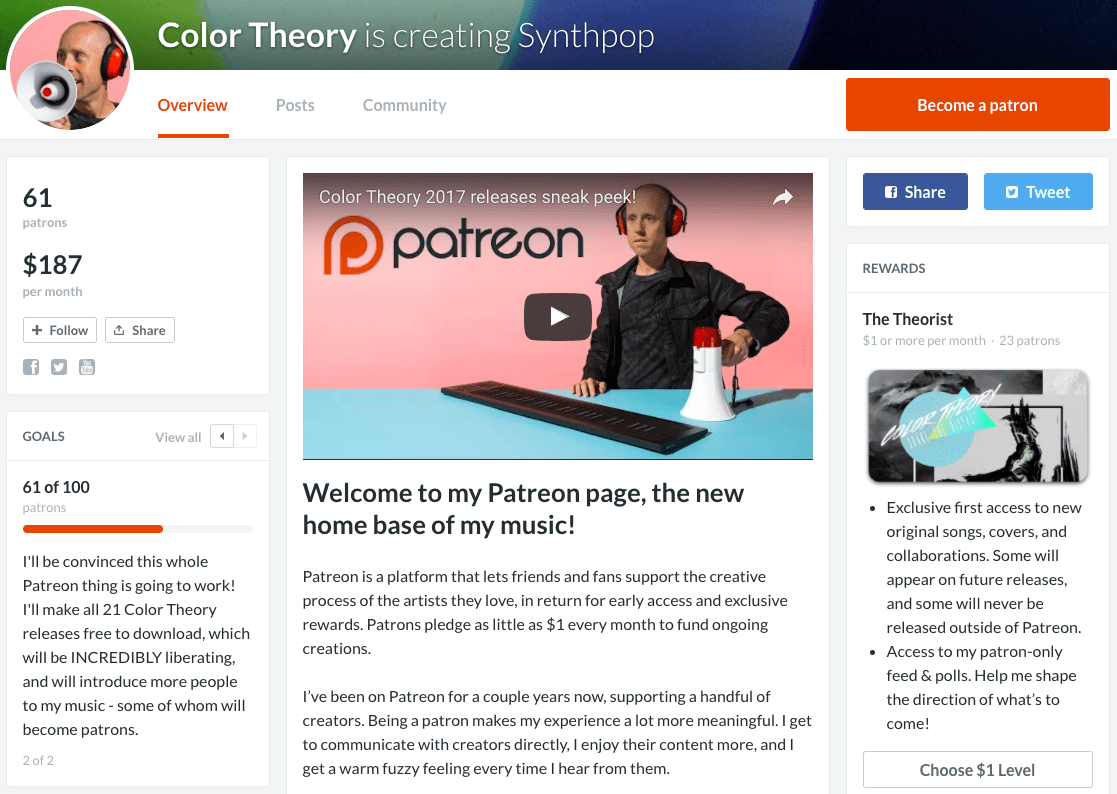 my Patreon page