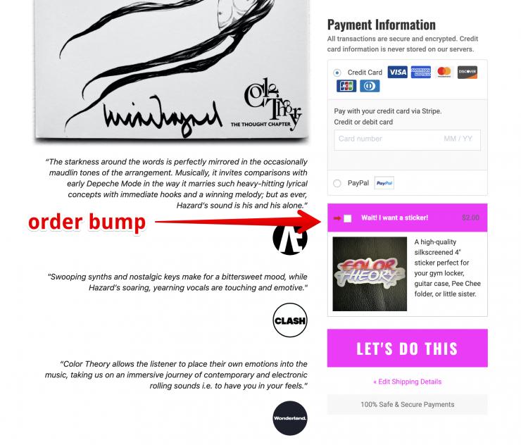 order bump